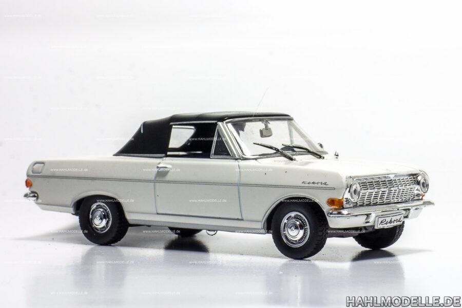 Modellauto Opel   hahlmodelle.de   Opel Rekord A Cabriolet Deutsch