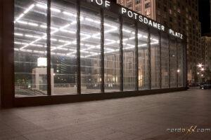 Berlin, Potsdamer Platz bei Nacht