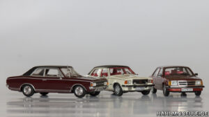 hahlmodelle.de | Commodore A, B und C in einem Bild