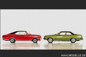 hahlmodelle.de | 2 Commodore Coupés freigestellt im PhotoShop