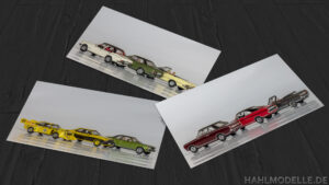hahlmodelle.de | drei Bilder mit verschiedenen Commodore-Modellen