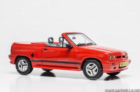 Modellauto Opel | hahlmodelle.de | Opel Corsa A i120 Spider