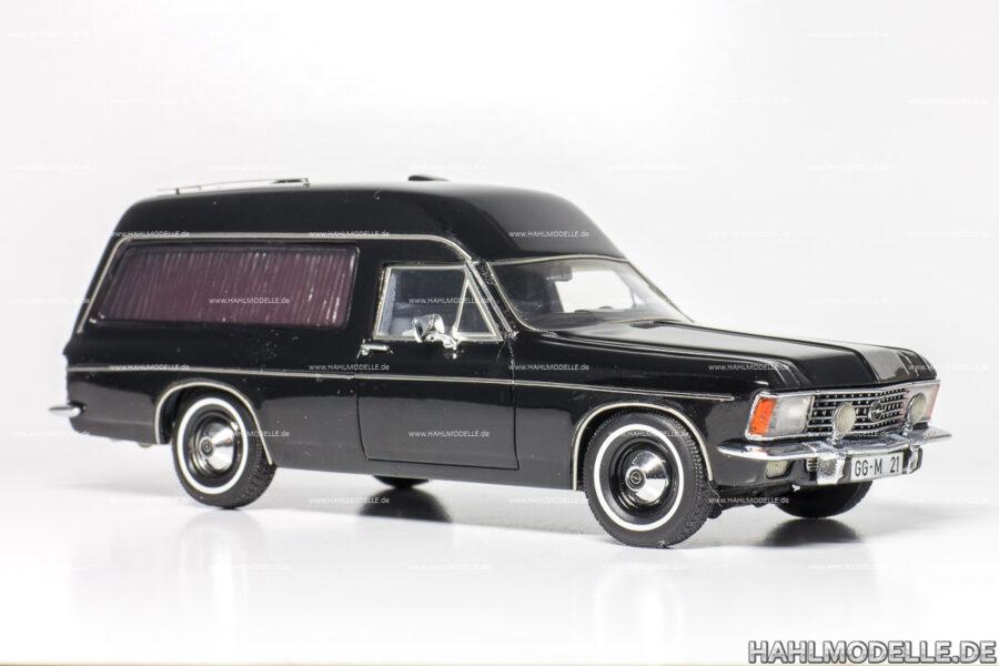 Modellauto Opel | hahlmodelle.de | Opel Admiral Bestatter (Miesen)