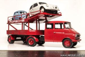hahlmodelle.de | Der beladene Transporter