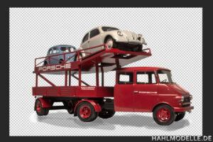 hahlmodelle.de | Der beladene Transporter – freigestellt