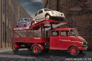 hahlmodelle.de | Der beladene Transporter – Stellprobe