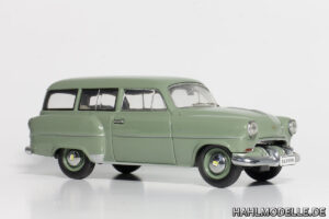 hahlmodelle.de | 1953er CarAVan als Basisfahrzeug