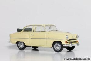 hahlmodelle.de   1954er Cabriolet Limousine als Frontspender