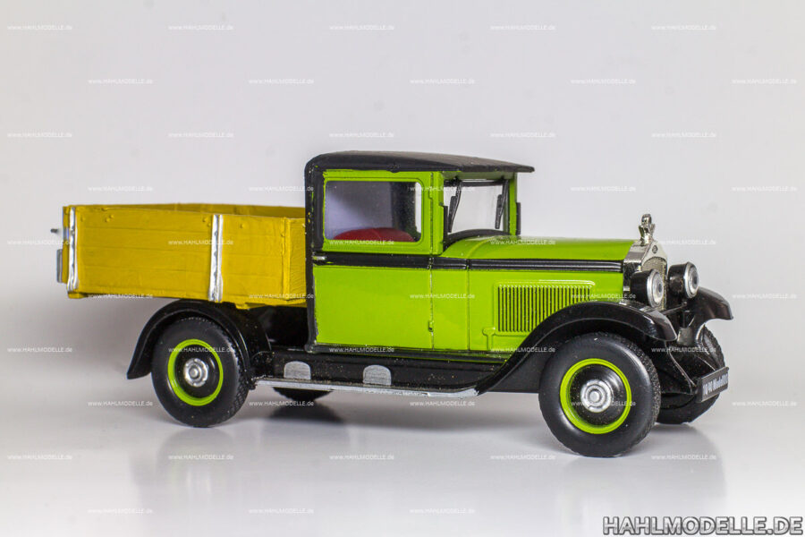 Modellauto Opel | hahlmodelle.de | Opel 10/40 PS, Lieferwagen Pritsche