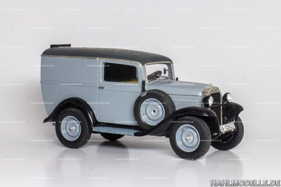 Modellauto Opel | hahlmodelle.de | Opel 1,2 Liter Lieferwagen