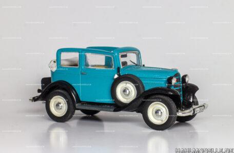 Modellauto Opel | hahlmodelle.de | Opel P4, Cabriolet-Limousine