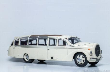 Modellauto Opel | hahlmodelle.de | Opel Blitz Fahrgestell 2,5 to Bus Ludewig Aero