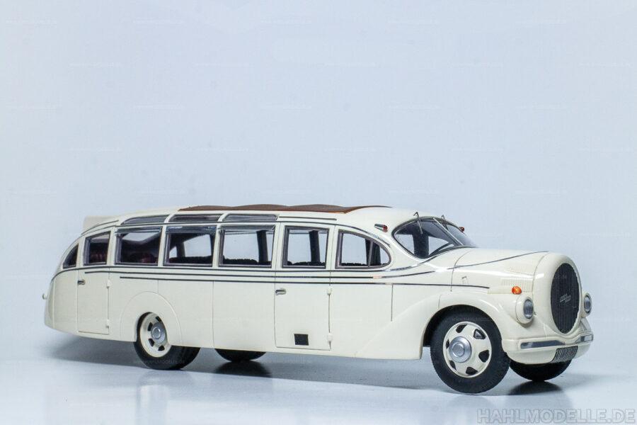 Modellauto Opel   hahlmodelle.de   Opel Blitz Fahrgestell 2,5 to Bus Ludewig Aero