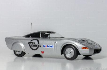 Modellauto Opel | hahlmodelle.de | Opel GT Diesel Experimentalfahrzeug