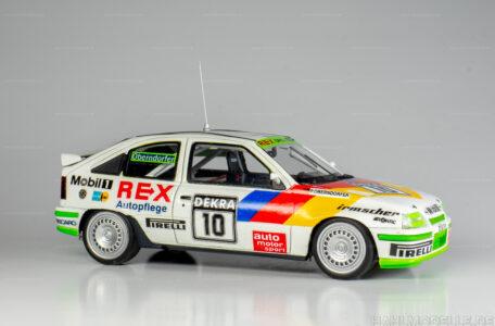 Modellauto Opel | hahlmodelle.de | Opel Kadett E GSi 16 V, Limousine (DTM 1989, Peter Oberndorfer), Minichamps