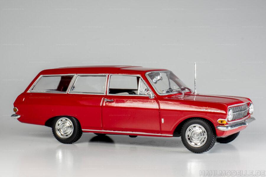 Modellauto Opel | hahlmodelle.de | Opel Rekord A, CarAVan, Kombi, Minichamps