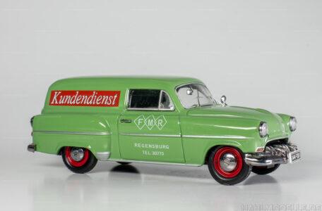 Modellauto Opel | hahlmodelle.de | Opel Lieferwagen L-53, Kastenwagen, Schuco