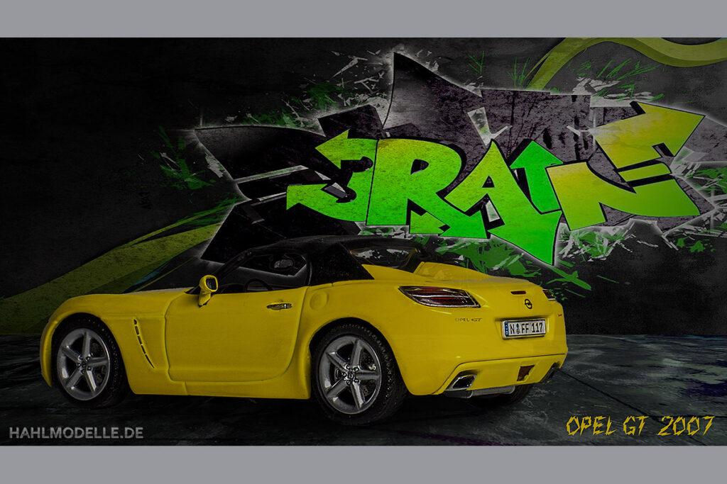 Modellauto Opel | hahlmodelle.de | GT 2007