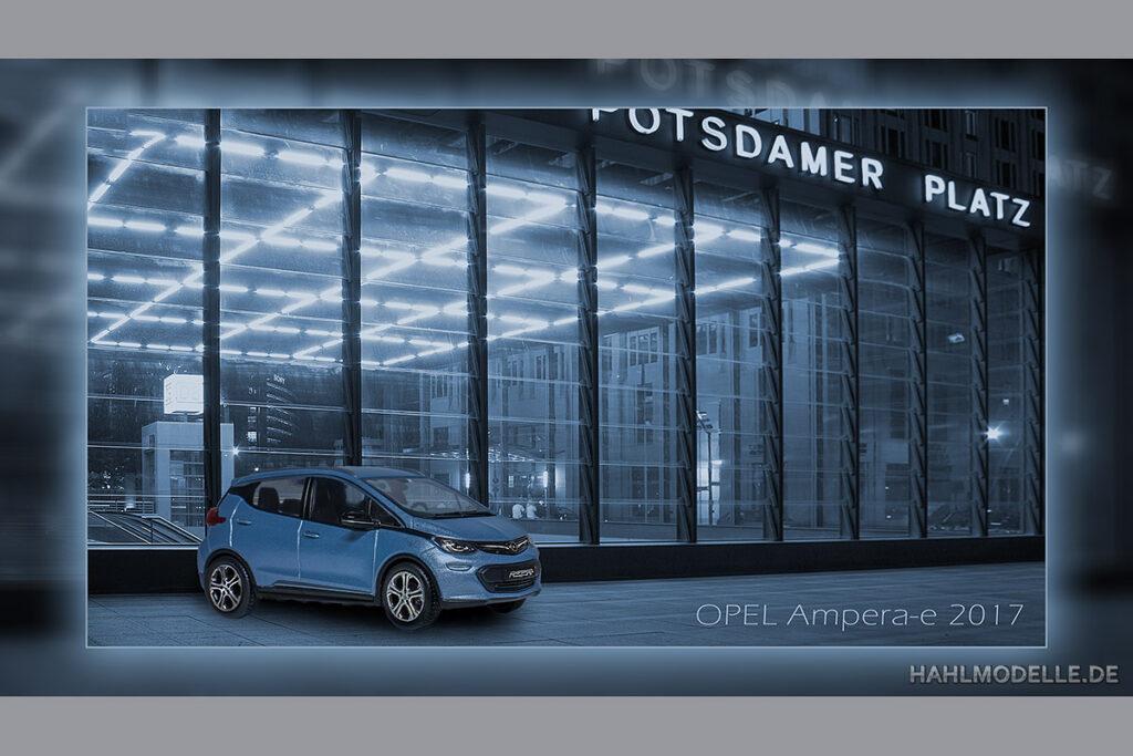 Modellauto Opel | hahlmodelle.de | Ampera-e