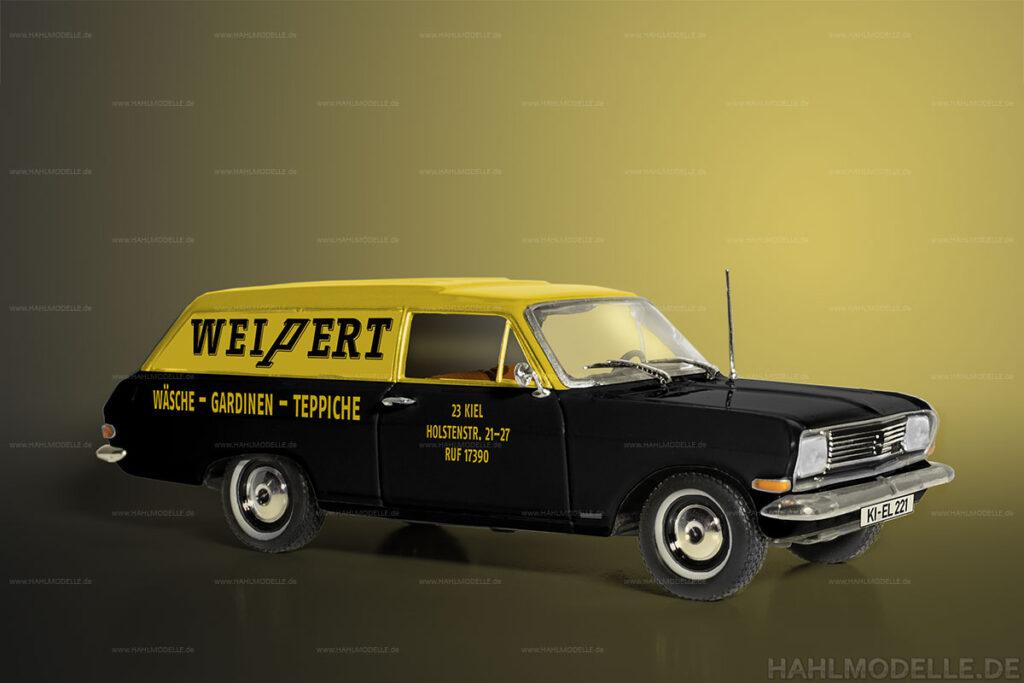 Modellauto Opel | hahlmodelle.de | Lieferwagen Rekord A