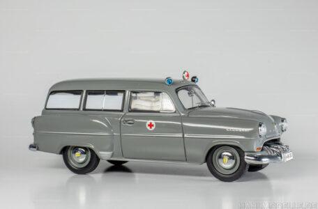 Modellauto Opel | hahlmodelle.de | Opel Olympia Rekord, CarAVan, Kombi, Krankenwagen, Schuco