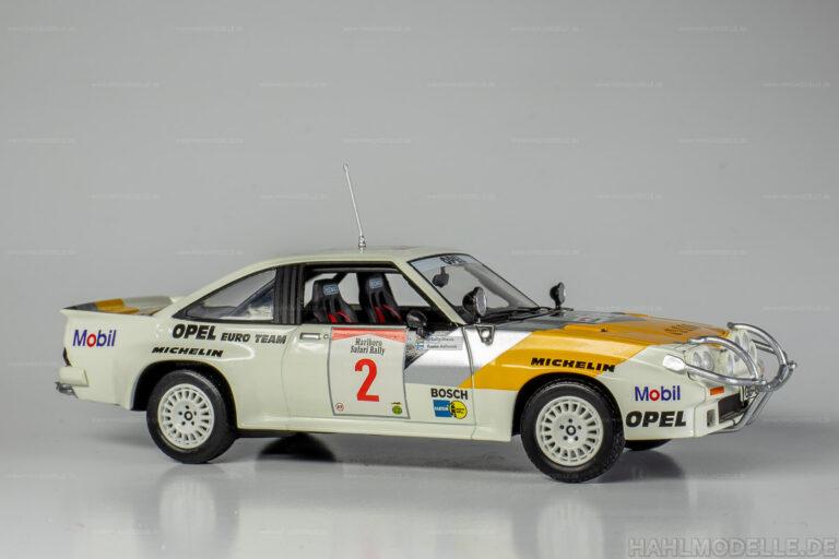 Opel Manta B 400, Rallye
