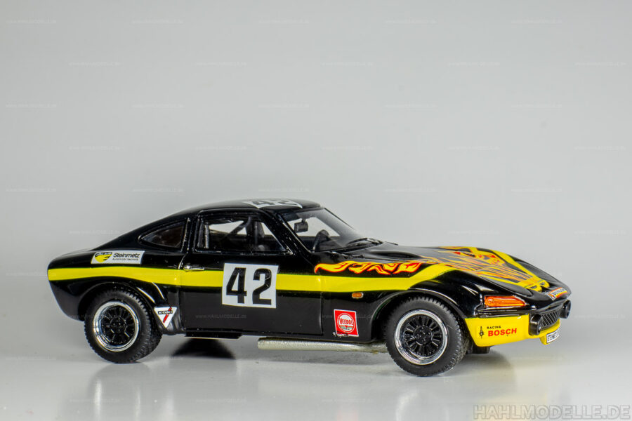 Modellauto Opel | hahlmodelle.de | Opel GT Steinmetz Gr. 4