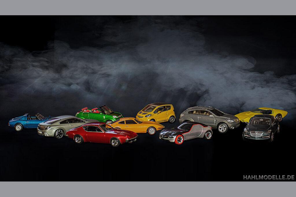 Modellauto Opel | hahlmodelle.de | diverse Prototypen, Show- und Conceptcars