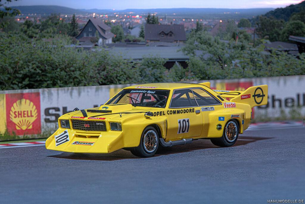 "Modellauto Opel | hahlmodelle.de | Commodore B Coupé Steinmetz ""Jumbo"""