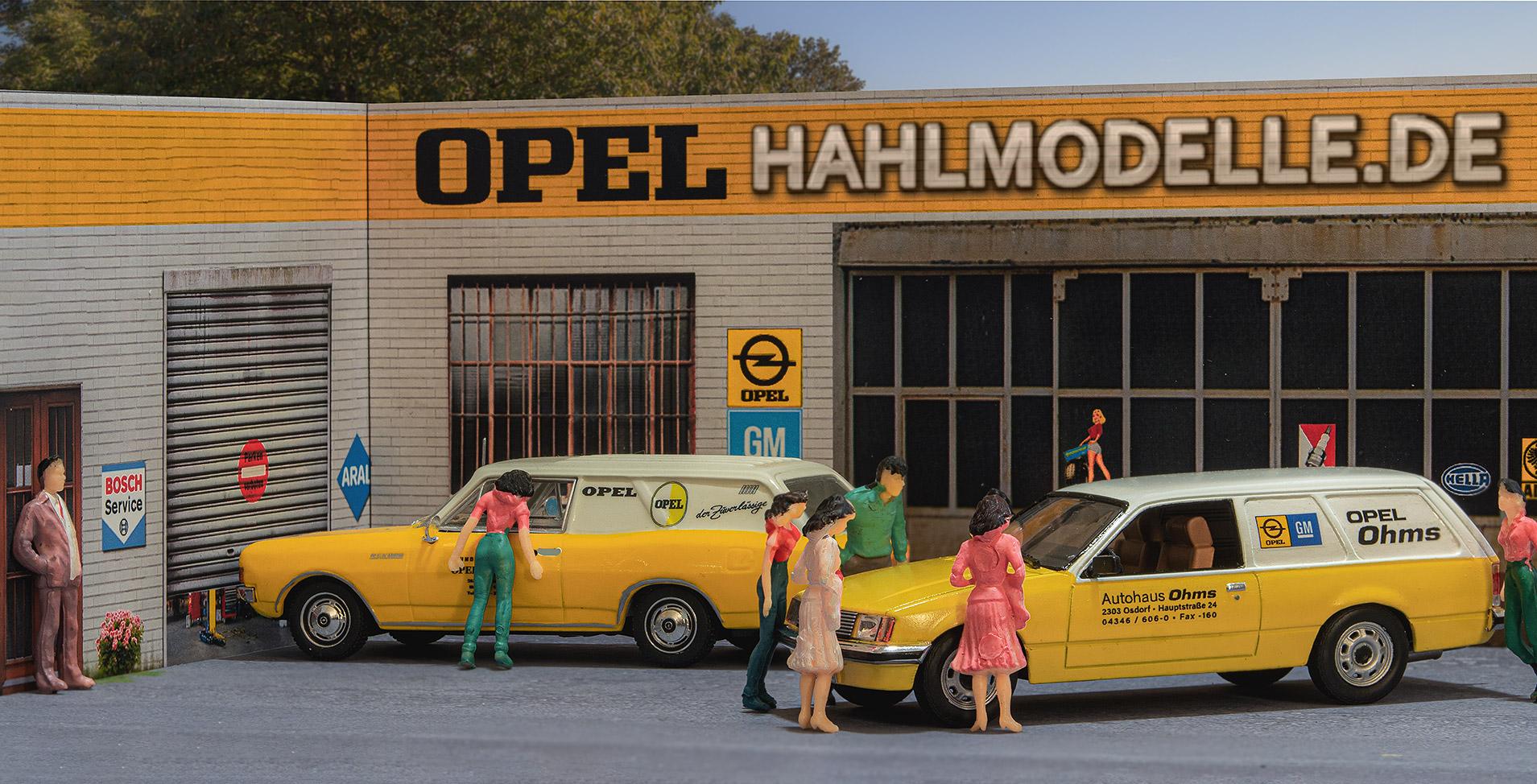 hahlmodelle.de   Opelmodelle in 1:43
