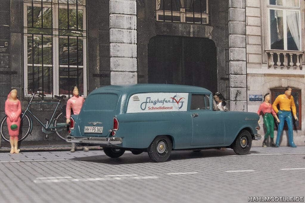 Modellauto Opel | hahlmodelle.de | Lieferwagen P1