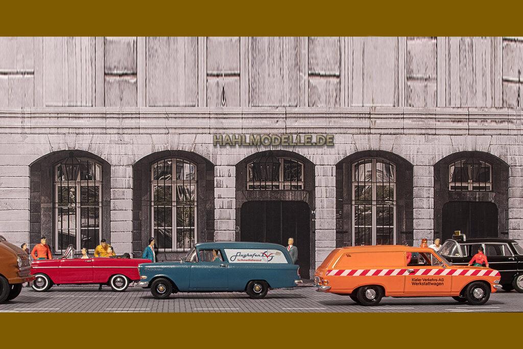 Modellauto Opel | hahlmodelle.de | Straßenszene