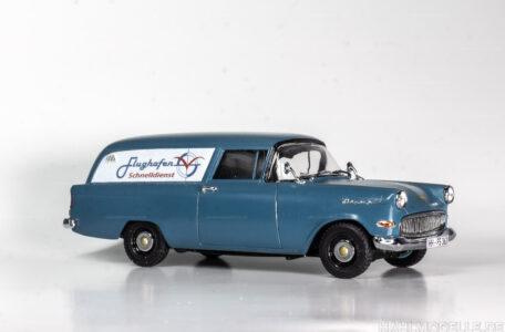 Modellauto Opel   hahlmodelle.de   Opel Olympia Rekord P1 Lieferwagen