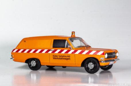 Modellauto Opel | hahlmodelle.de | Opel Rekord A Lieferwagen