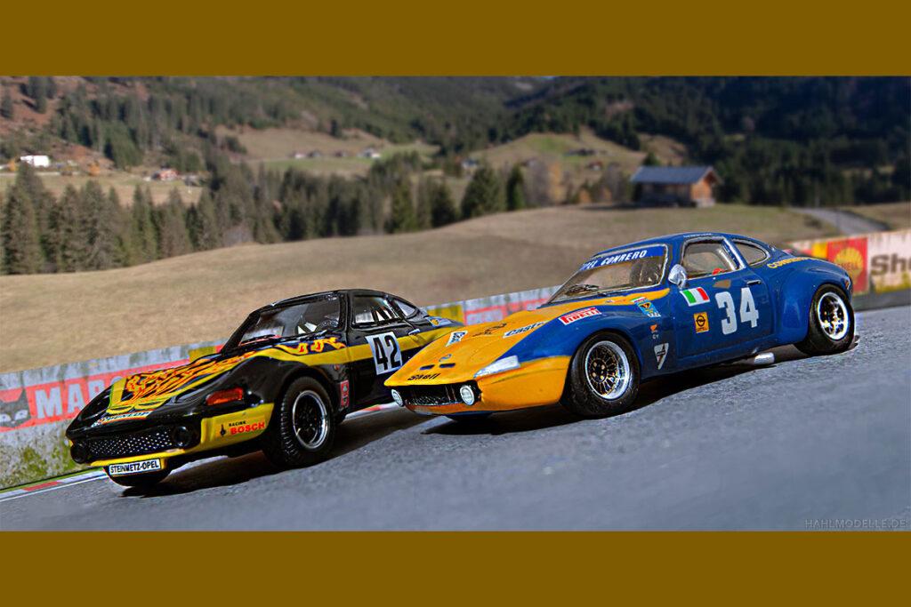 Modellauto Opel | hahlmodelle.de | Gruppe IV GTs