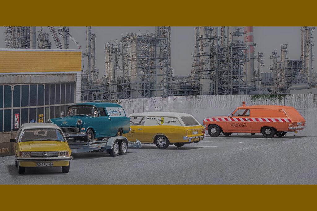 Modellauto Opel | hahlmodelle.de | Viel zu tun bei Kohlhiesel & Söhne