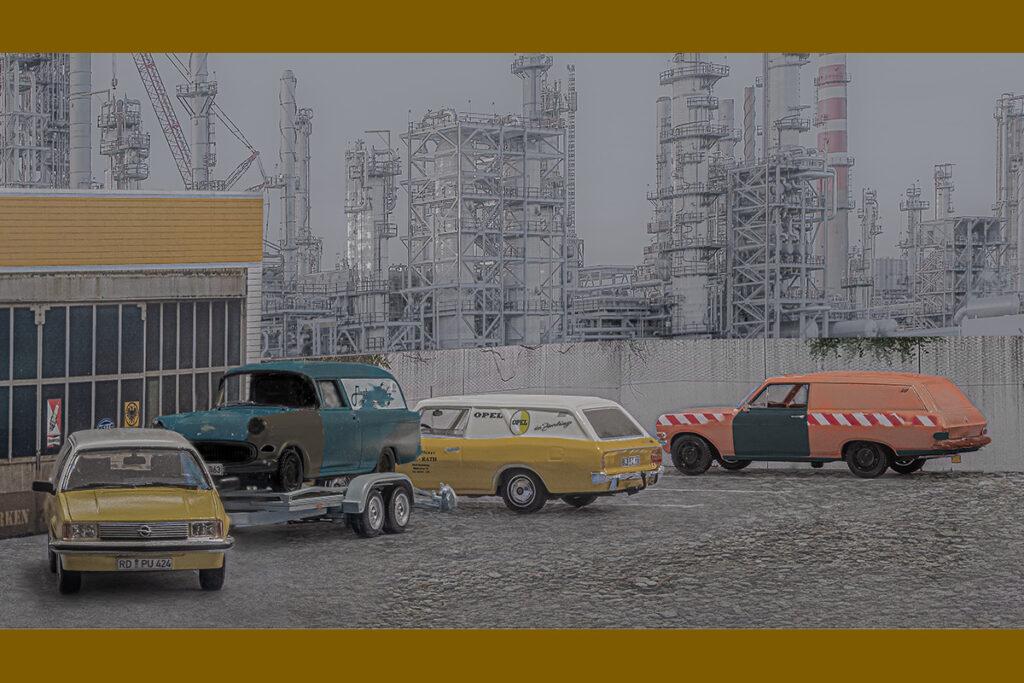 Modellauto Opel | hahlmodelle.de | Schrott bei Kohlhiesel & Söhne