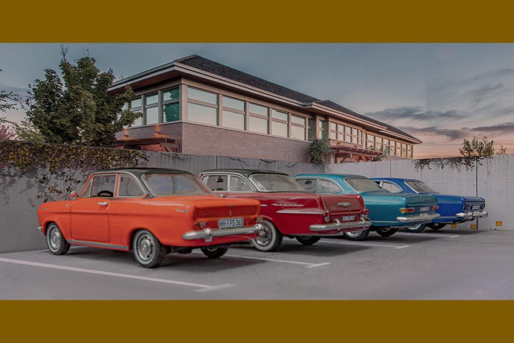 Modellauto Opel | hahlmodelle.de | Rasende Kofferräume
