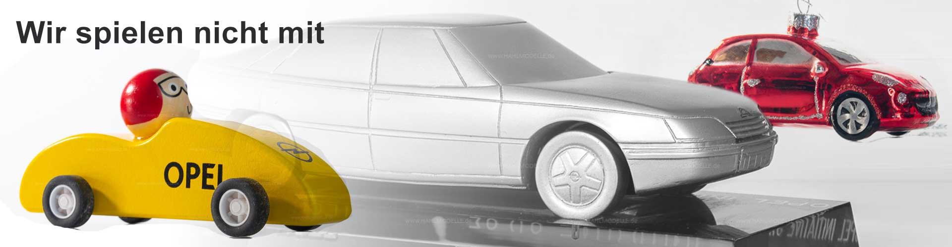 Opel-Modelle - nicht in 1:43