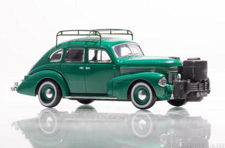 Modellauto | hahlmodelle.de | Opel Kapitän 1938, Limousine