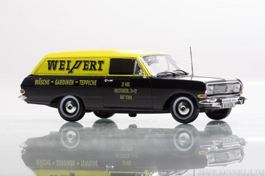 Modellauto | hahlmodelle.de | Opel Rekord B Lieferwagen