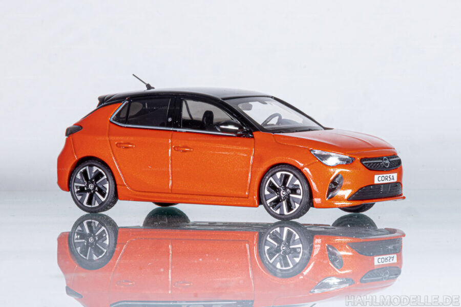 Modellauto   hahlmodelle.de   Opel Corsa-e (F)