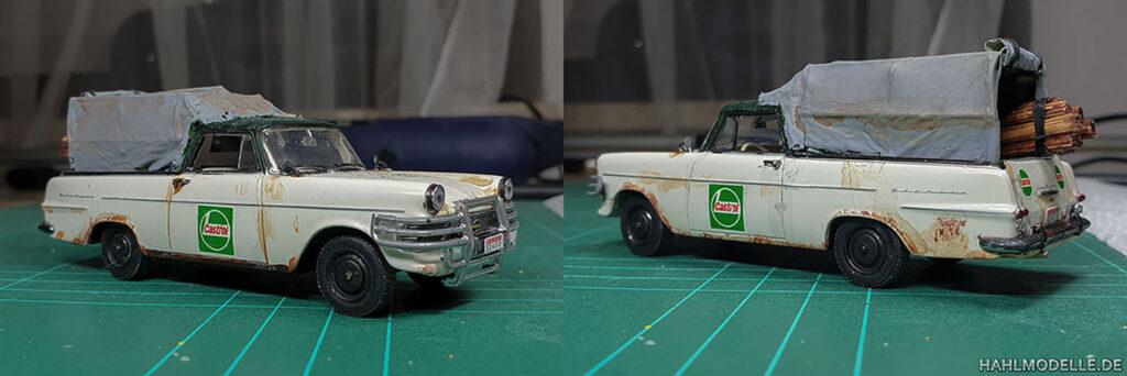 hahlmodelle.de | Opel Rekord P2 PickUp: Fast fertig