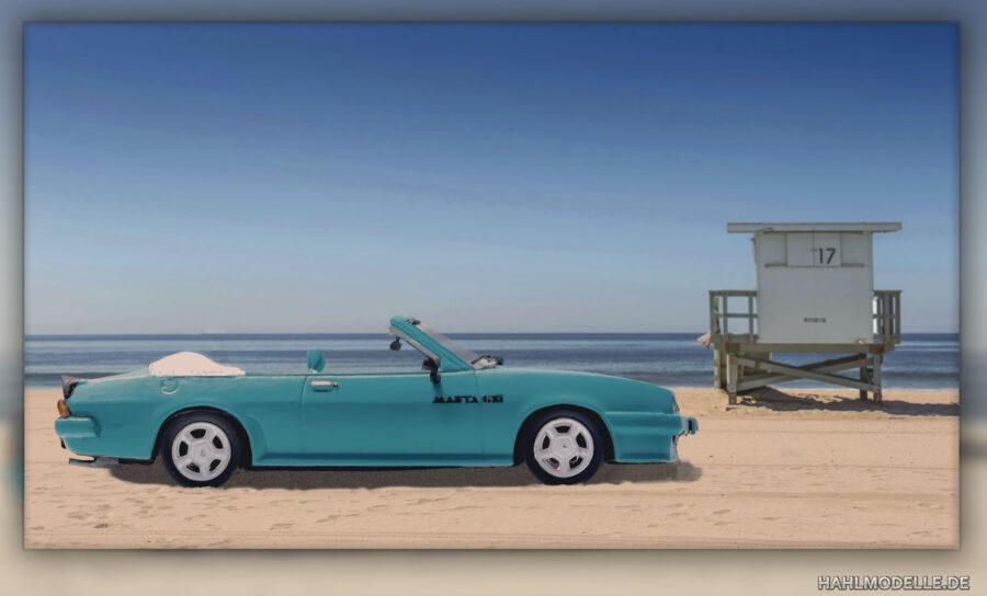 Modellauto | hahlmodelle.de | Opel Manta B Cabriolet Piecha