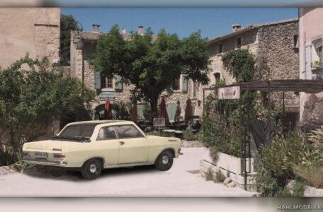 Modellauto | hahlmodelle.de | Opel Rekord A Cabrio-Limousine (Autenrieth)