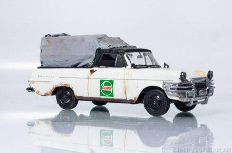 Modellauto | hahlmodelle.de | Opel Rekord P2 Pickup Spriegel/Plane