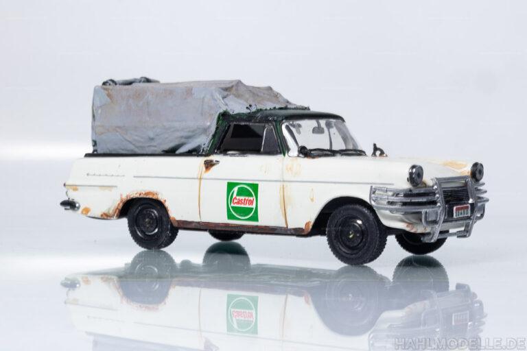 Opel Rekord P2, PickUp mit Spriegel und Plane
