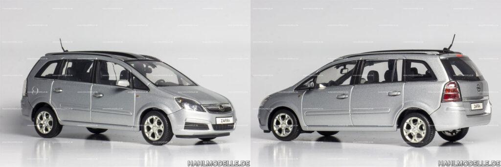 hahlmodelle.de | Opel Zafira B: Grundmodell für Umbau