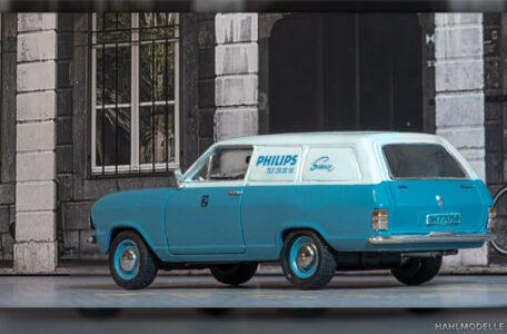Modellauto | hahlmodelle.de | Opel Kadett B Kastenwagen