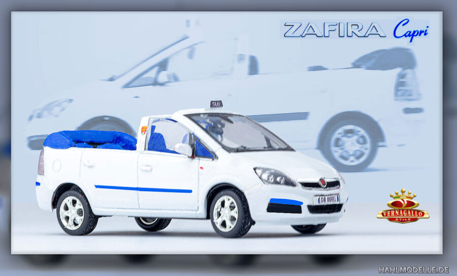 "hahlmodelle.de | Opel Zafira B | Taxi Cabriolet ""Capri"" von Vernagallo"